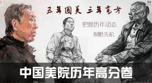 中国美院历年高分卷
